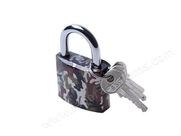 Visací zámek ESO ARMY 38mm, 3 klíče