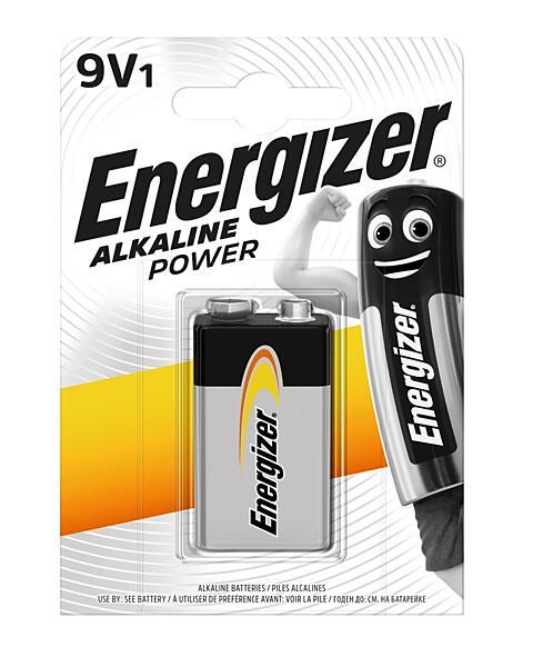 Alkalická baterie 9V ENERGIZER Power