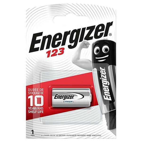 Lithiová baterie ENERGIZER CR123 3V