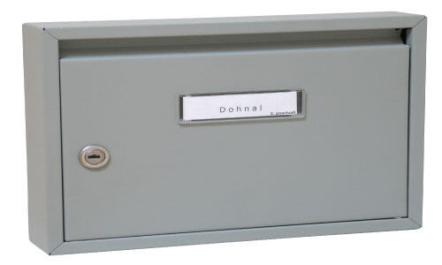 Poštovní schránka DOLS E-01 čp hnědá