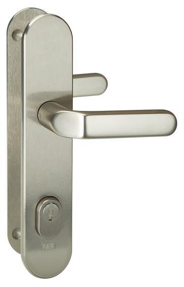 Bezpečnostní kování FAB S403/72 klika/klika