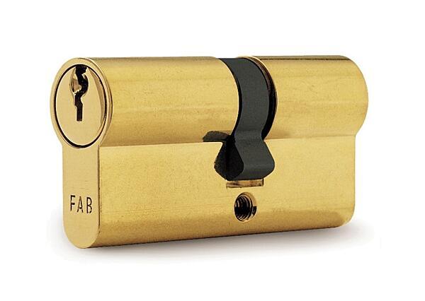 Cylindrická vložka FAB 100 RSD (29+29) 3 klíče