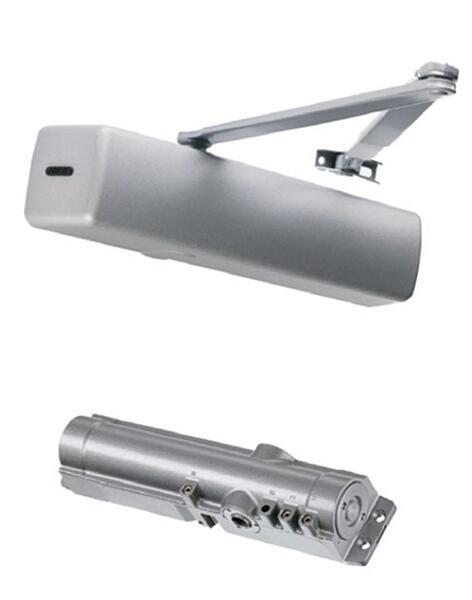 Dveřní zavírač FAB DC340 - stříbrný (bez ramínka)
