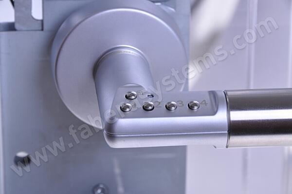 Elektronická klika Mul-T-Lock CODE - IT - LEVÁ