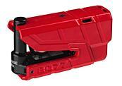 ABUS GRANIT Detecto X-Plus 8077 (červený) elektronický zámek na kotoučovou brzdu s alarme