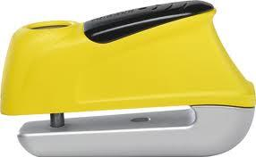 ABUS Trigger alarm 350 (žlutý) elektronický zámek na kotoučovou brzdu