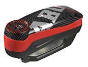 ABUS Detecto 7000 RS1 (pixel red) elektronický zámek na kotoučovou brzdu s alarmem