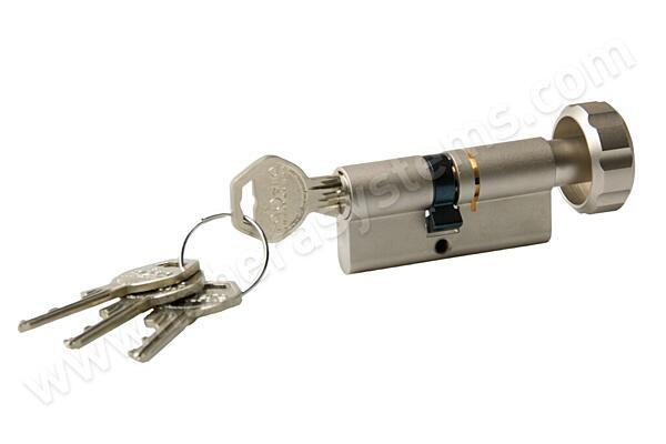 Cylindrická vložka GEGE pExtra knoflik (30+45) 4 klíče
