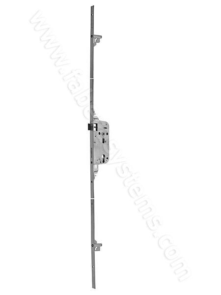 Zadlabací zámek HOBES K119 bezpečnostní, tříbodový