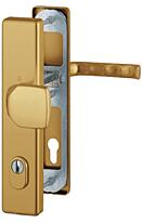 Bezpečnostní kování HOPPE LONDON F4 madlo/klika s překrytem, 92/8, 67-72mm