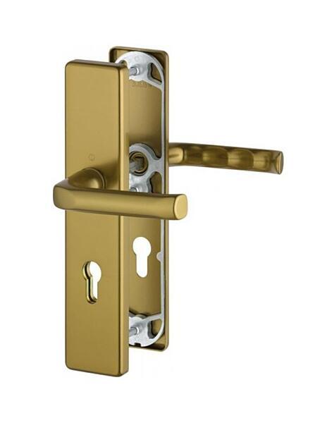 Bezpečnostní kování HOPPE LONDON F4 klika/klika bez překrytu, 92/8, 67-72mm (obj.3766280)