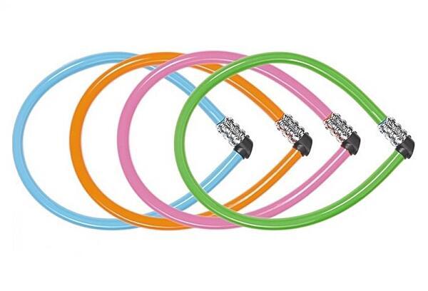 ABUS 1100/55 kódový (mix barev) lankový zámek na kolo