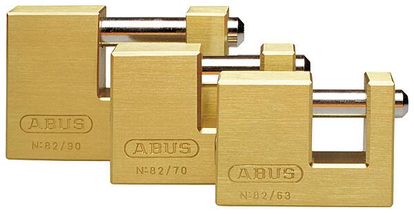 Visací zámek ABUS monoblock 722/90C mosazný