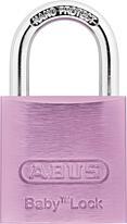 ABUS Baby Lock 645TI/30 visací zámek (růžový)