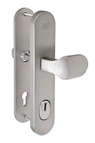 Bezpečnostní kování FAB BK325/72 IROX madlo-klika, s překrytem