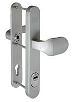 Bezpečnostní kování FAB BK625/92 IROX madlo-klika, s překrytem