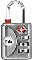 Cestovní visací zámek Yale YTP1/32/119/1, TSA