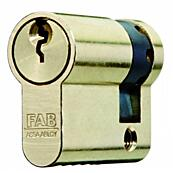 Cylindrická půlvložka FAB 201 RSGDZ /37+10, 3 klíče
