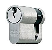 Cylindrická půlvložka FAB 201 RSGDZNm/52+10, 3 klíče