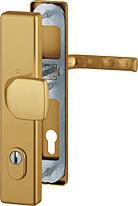 Bezpečnostní kování HOPPE LONDON F4 madlo/klika s překrytem, 92/8, 67-72mm (obj.č.3766221)