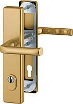 Bezpečnostní kování HOPPE LONDON F4 klika/klika s překrytem, 92/8, 67-72mm