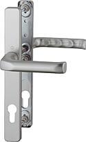Bezpečnostní kování HOPPE LONDON úzký štítek F9 klika/klika, 92/8, 67-72mm