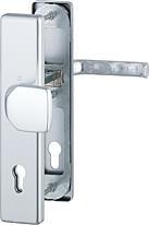 Bezpečnostní kování HOPPE LONDON F1 madlo/klika bez překrytu, 92/8, 67-72mm