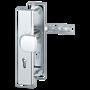 Bezpečnostní kování HOPPE LONDON F1 koule/klika bez překrytu, 92/8, 67-72mm (ob.č.3766327)