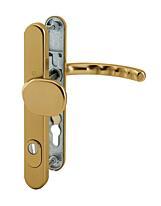 Bezpečnostní kování HOPPE LUXEMBOURG F4 madlo/klika s překrytem, 92/8, 72-77mm