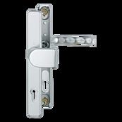 Bezpečnostní kování HOPPE LONDON úzký štítek F1 madlo/klika, 92/8, 67-72mm (2322046)