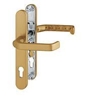 Bezpečnostní kování HOPPE LIVERPOOL F4 klika/klika bez překrytu, 92/8, 67-72mm