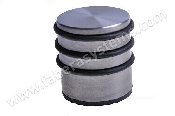 Dveřní zarážka podlahová nerez (70x75mm)