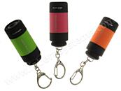 Přívěsek na klíče - LED svítilna s USB nabíjením