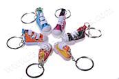 Přívěsek na klíče bota teniska barevná