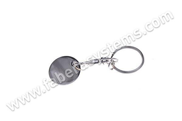 Přívěsek na klíče Žeton kov