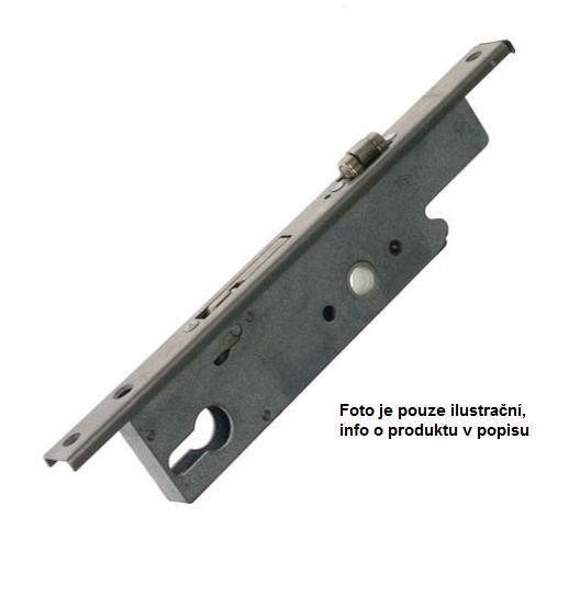 Zadlabací zámek SOBINCO 8611-U22-25 s válečkem