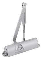 Dveřní zavírač DORMA TS68 EN 2/3/4, aretační ramínko, stříbrný