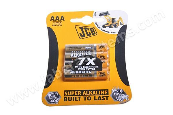 Alkalická mikrotužková baterie JCB LR03/4 AAA