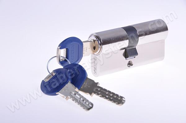 Cylindrická vložka KABA experT (30+70) 5 klíčů