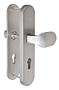 Bezpečnostní kování FAB BK305/72 F1 madlo/klika bez překrytu