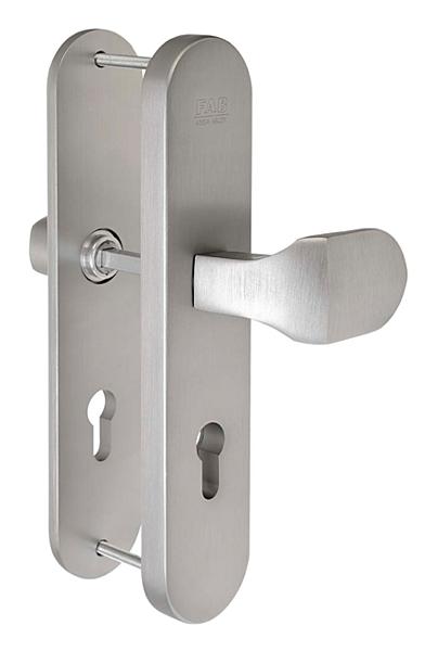 Bezpečnostní kování FAB BK305/90 F1 madlo/klika bez překrytu