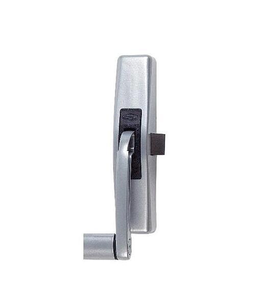 Panikové jednobodové kování FAB 890100-35-2Z stříbrné