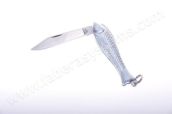 Přívěsek Kapesní nůž rybička Mikov