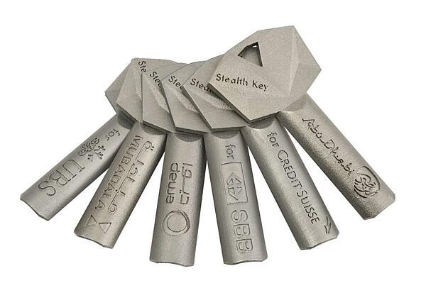 Sada klíčů Stealth Key 5ks k nové vložce Stealth, standardní celokovový (krátký) 59mm