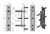 Zábrana proti vysazení (dřevěná i ocelová zárubeň)