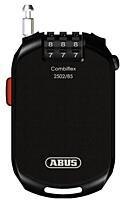 Uzamykatelné lanko ABUS Combiflex 2502/85 černý