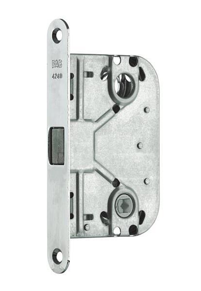 Zadlabací zámek FAB 4249CR pro posuvné dveře a WC