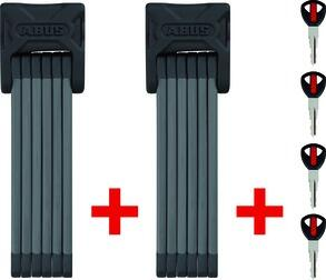 ABUS Bordo 6000/90 TwinSet (černý) zámek na kolo