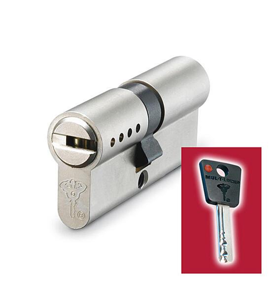 Cylindrická vložka MUL-T-LOCK 7x7 (27+27) 5 klíčů - 0667