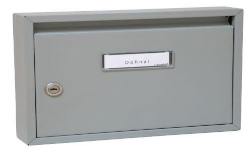 Poštovní schránka DOLS E-01 čp bílá